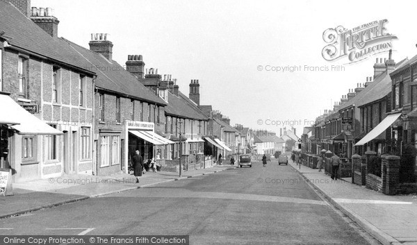 Rainham, Station Road c1955