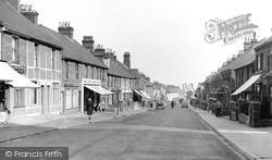 Rainham, Station Road c.1955