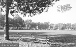 Rainham, The Recreation Ground c.1955