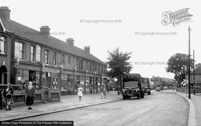 Rainham, Upminster Road c.1955