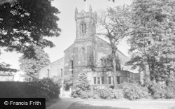 St Ann's Church c.1950, Rainhill