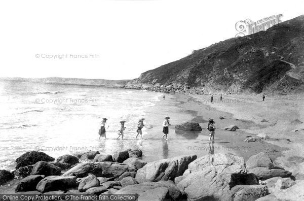 Photo of Rame, Whitsand Bay 1906