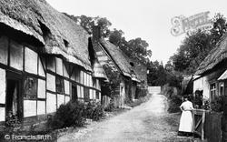 Ramsbury, Burdett Street 1906