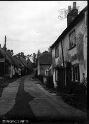 Ramsbury, Burdett Street c.1955