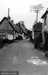 Ramsbury, Burdett Street c.1960