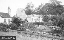 Ramsbury, Church And Lychgate 1910
