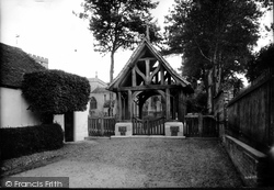 Ramsbury, Church Lychgate 1910