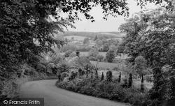 Ramsbury, From Elmsdown Hill c.1955