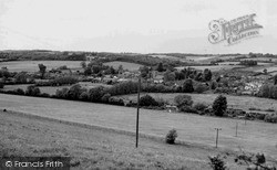 Ramsbury, From Elmsdown Hill c.1960