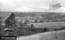 Ramsbury, From Spring Hill 1923