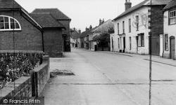 Ramsbury, High Street c.1960