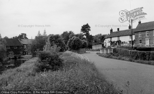 Ramsbury,Mill House and the Knapp c1955,Wiltshire