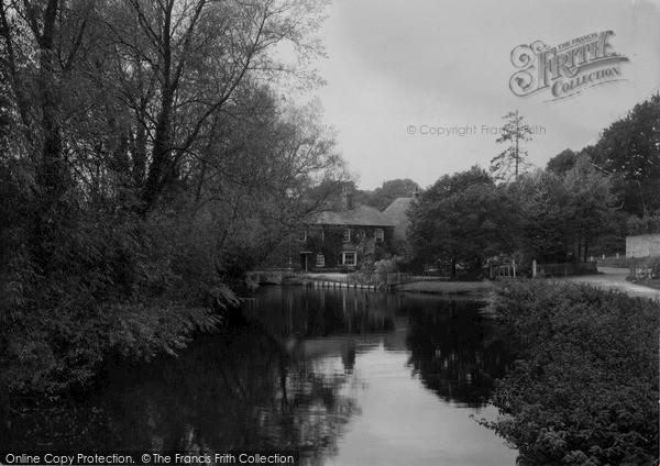 Ramsbury,Mill House c1955,Wiltshire