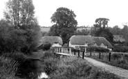 Ramsbury, Riverside c1955