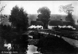 Ramsbury, Riverside Cottages 1907