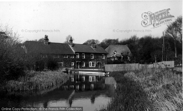 Ramsbury,the Mill House c1955,Wiltshire
