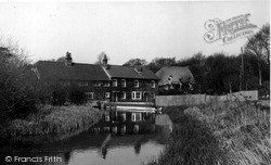 Ramsbury, The Mill House c.1955