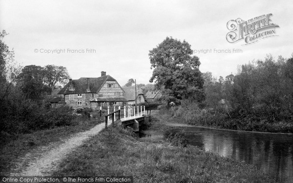 Ramsbury,the Old Mill c1955,Wiltshire
