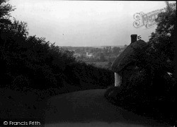 Ramsbury, View From Elmdown Hill c.1955