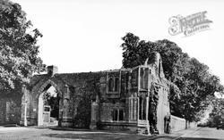 Abbey Gateway c.1950, Ramsey