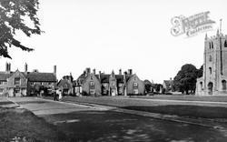 Church And Green c.1950, Ramsey