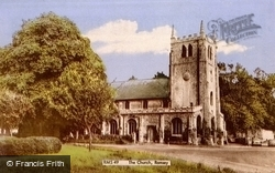 Church Of St Thomas A Becket c.1965, Ramsey