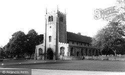 Ramsey, Church Of St Thomas A Becket c.1965