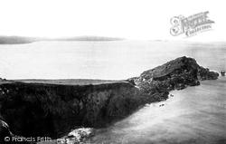 And Whitesands Bay 1890, Ramsey Island