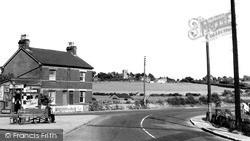 Ramsey, Post Office Corner c.1955