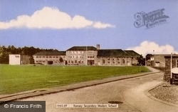 Secondary Modern School c.1965, Ramsey