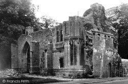 Ramsey, The Abbey Gateway c.1955