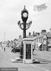 Ramsey, The Great Whyte, Fellowes Memorial Clock c.1955