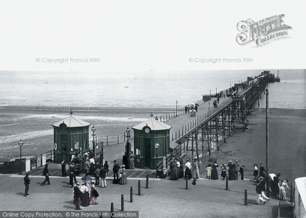 Photo of Ramsey, The Pier 1895