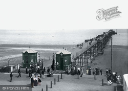Ramsey, The Pier 1895
