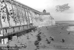 Beach And East Cliff c.1920, Ramsgate