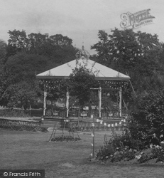 Ellington Park, The Bandstand 1901, Ramsgate