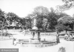Ramsgate, Ellington Park, The Fountain 1895