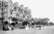 Ramsgate, Granville Hotel, Victoria Parade 1901