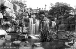 Madeira Walk, Waterfall 1901, Ramsgate