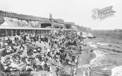Ramsgate, Sands And Station c.1899