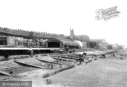 Sands Station And The Beach c.1880, Ramsgate
