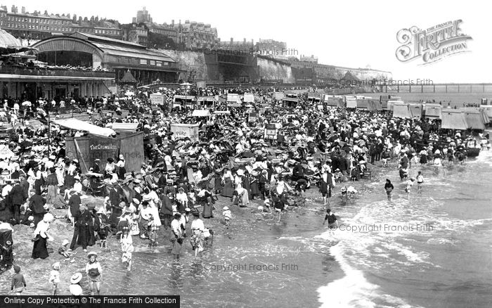 Photo of Ramsgate, The Beach And Sands Station 1907