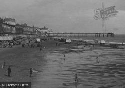 Ramsgate, The Beach c.1920