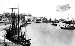 Ramsgate, The Inner Basin 1895