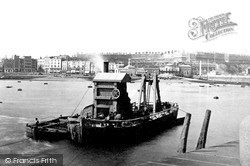 Tug And The Seafront c.1880, Ramsgate