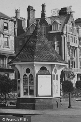 Victoria Gardens Kiosk c.1920, Ramsgate