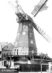 Ramsgate, Westcliff Windmill 1901