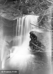 Ramsgill, Beck Water Fall c.1932