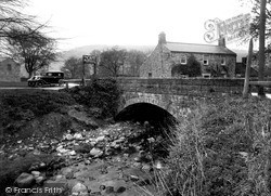 Ramsgill, Bridge And Café c.1932
