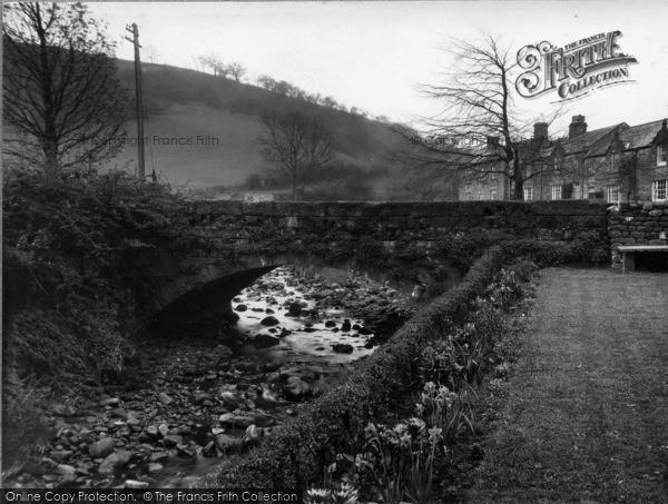 Photo of Ramsgill, Bridge From Café Gardens c.1932